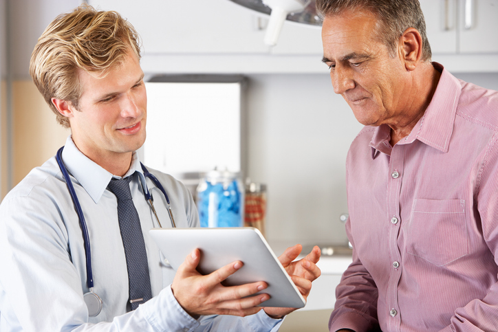Testosterone Cypionate doctor and patient.